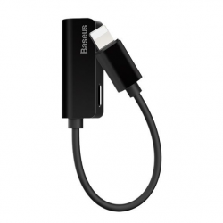 ADAPTER BASEUS Lightning - Lightning/mini Jack 3.5