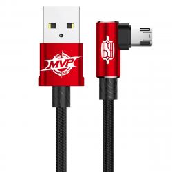 KABEL BASEUS Nylonowy Kątowy micro USB 1m 2A