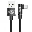 KABEL BASEUS Nylonowy Kątowy USB-C 2m 1.5A