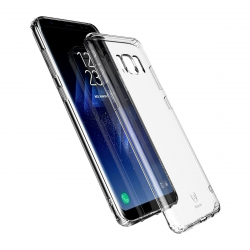 ETUI BASEUS Clear TPU Case Samsung Galaxy S8 Plus