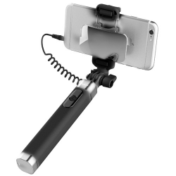 SELFIE STICK ROCK Z LUSTERKIEM mini Jack 3.5mm