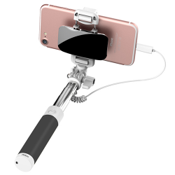 MINI SELFIE STICK ROCK LUSTRO Lightning do iPhone