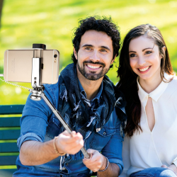 SELFIE STICK ROCK POMADKA SZMINKA mini Jack 3.5mm