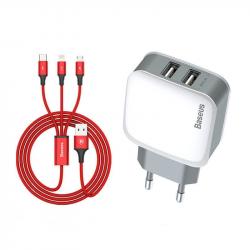 Kabel USB Type-C Baseus Confidant Anti-break Cable 2A 1M