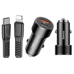 ŁADOWARKA SAMOCHODOWA BASEUS USB-C DO LIGHTNING PD