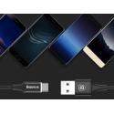 KABEL BASEUS QUICKCHARGE LED USB-C 200CM TYP-C