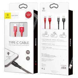 KABEL BASEUS QUICKCHARGE LED USB-C 100CM TYP-C