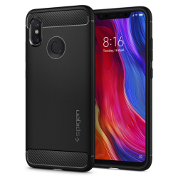ETUI SPIGEN Rugged Armor do Xiaomi Mi 8