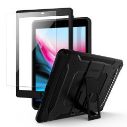 ETUI SPIGEN Pro Guard iPad 9.7'' 2017/2018 + SZKŁO