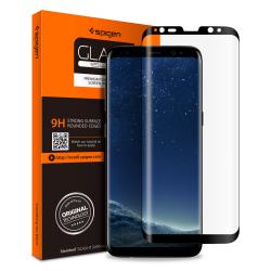 SZKŁO HARTOWANE SPIGEN Curved do Galaxy S9