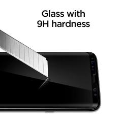SZKŁO HARTOWANE SPIGEN Curved do Galaxy S8