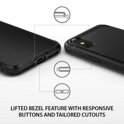 ETUI RINGKE Onyx do iPhone X/10 + FOLIA