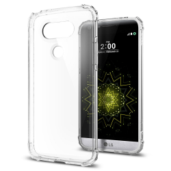 ETUI SPIGEN Crystal Shell do LG G5