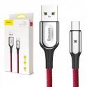 KABEL BASEUS USB 3.0 USB-C X-shaped LED 1M 3A