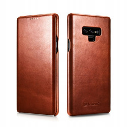 I-CARER VINTAGE SKÓRZANE ETUI CASE - GALAXY NOTE 9