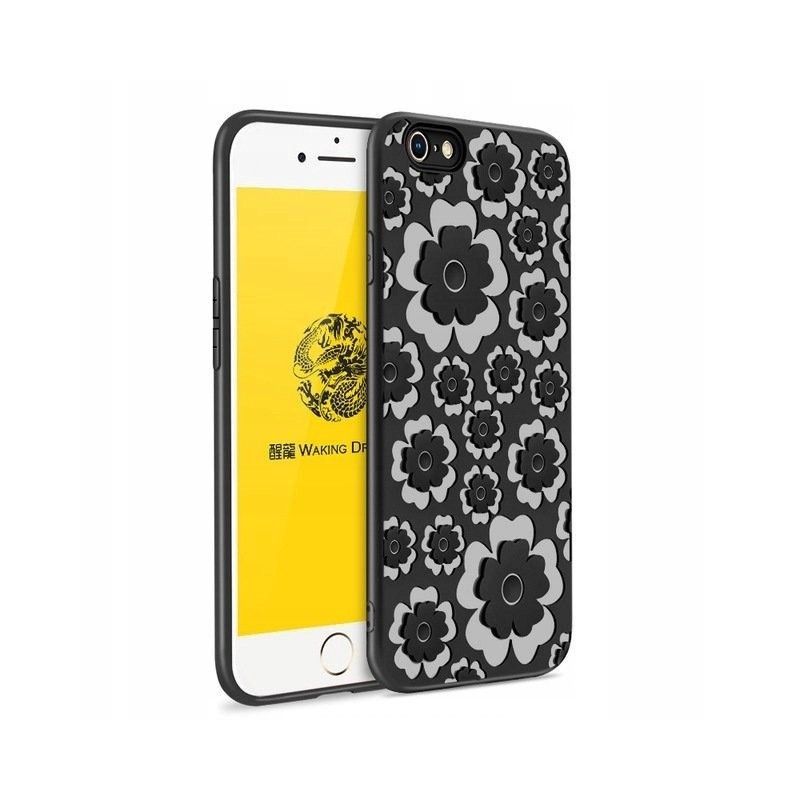 ETUI MSVII Silikonowe Flower do iPhone 8/7