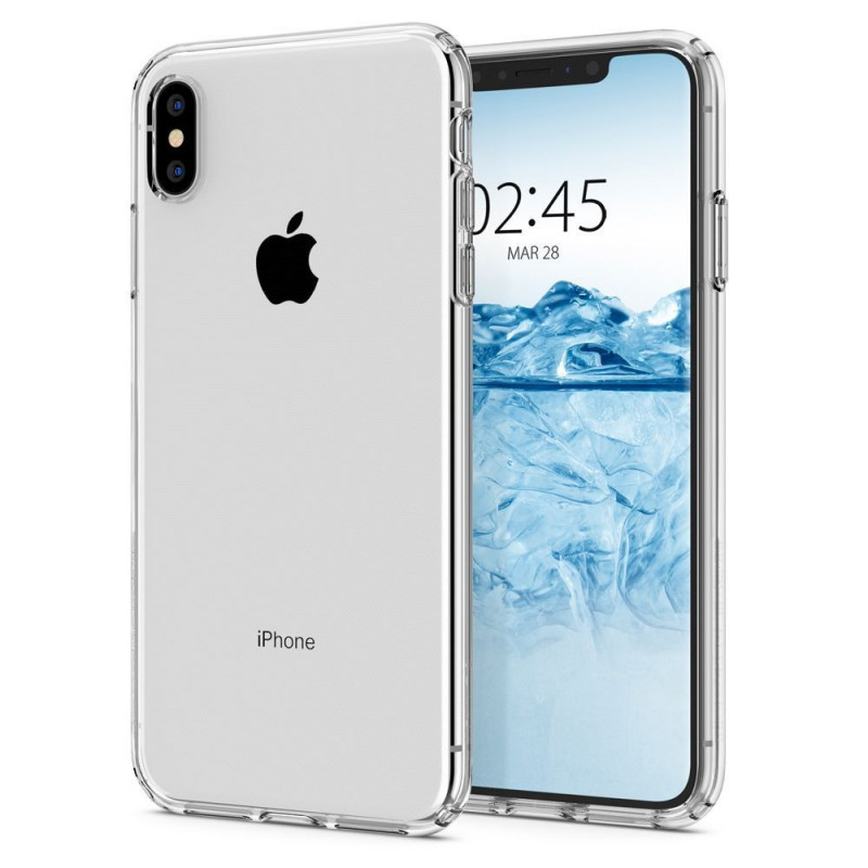 ETUI SPIGEN Liquid Crystal iPhone X/Xs