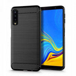 ETUI TECH-PROTECT TPUCARBON Samsung Galaxy A7 2018