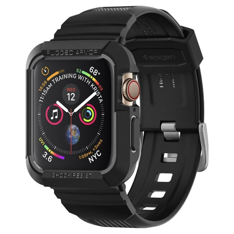 ETUI SPIGEN Rugged Armor Pro Apple Watch 4 (44mm)