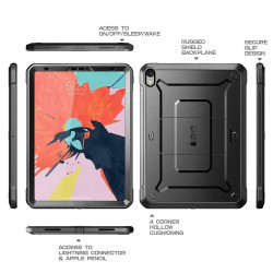 ETUI SUPCASE Unicorn Beetle Pro iPad Pro 11 (2018)