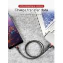 KABEL BASEUS CAFULE NYLONOWY USB-C 50CM 3A QC3.0