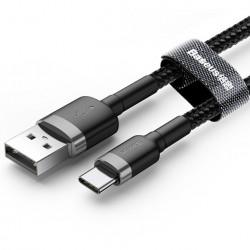 KABEL BASEUS CAFULE NYLONOWY USB-C 2M 2A