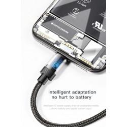 KABEL BASEUS 3w1 MICRO Lightning USB-C TRANSMISJA