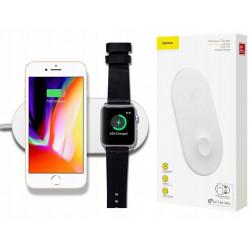 ŁADOWARKA INDUKCYJNA BASEUS 2w1 iPhone Apple Watch