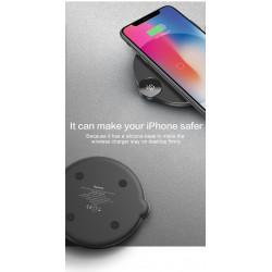 ŁADOWARKA INDUKCYJNA BASEUS WYŚWIETLACZ Apple QC
