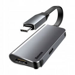 HUB BASEUS ADAPTER USB-C PD HDMI 4K MacBook Pro