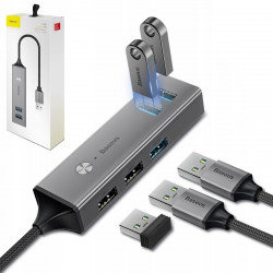 HUB BASEUS ADAPTER Cube USB do 3xUSB 3.0 2xUSB 2.0