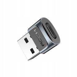 ADAPTER ROCK Przejściówka USB-C do USB-A