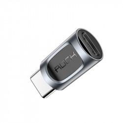 ADAPTER ROCK Przejściówka microUSB do USB-C