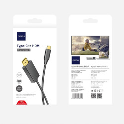 KABEL ROCK MHL KONWERTER USB-C do HDMI 4K 1.8M