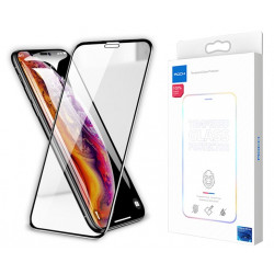 SZKŁO BEZPYŁOWE ROCK Curved 3D 0.3mm iPhone Xs Max