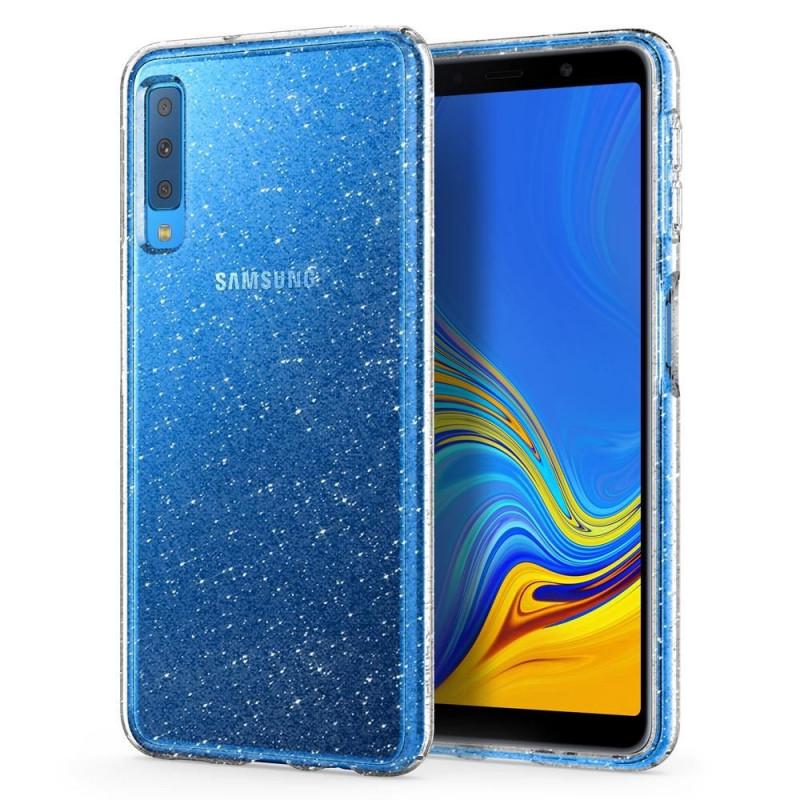 ETUI SPIGEN Liquid Glitter Samsung Galaxy A7 2018