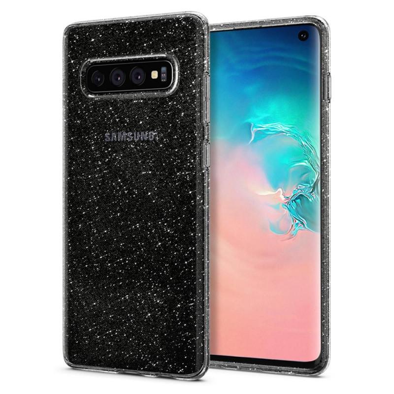 ETUI SPIGEN Liquid Crystal Glitter do Galaxy S10