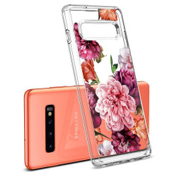 ETUI SPIGEN CIEL Rose Floral do Galaxy S10 Plus