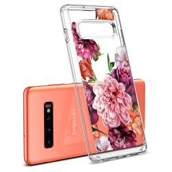 ETUI SPIGEN CIEL Rose Floral do Samsung Galaxy S10