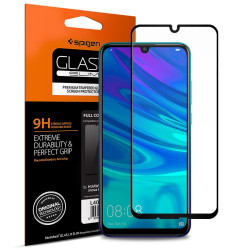 SZKŁO SPIGEN 9H FULL COVER HUAWEI P SMART 2019