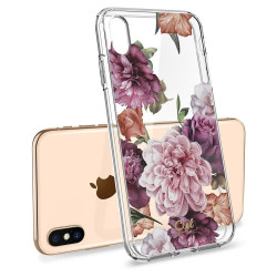 ETUI SPIGEN CIEL Rose Floral do iPhone Xs Max