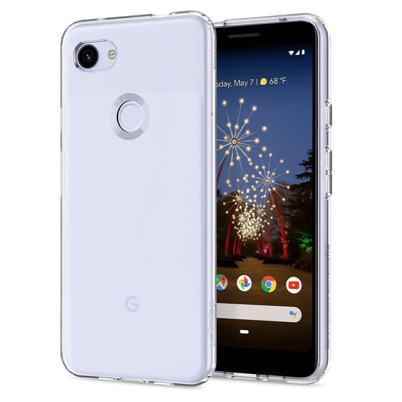 ETUI SPIGEN Liquid Crystal do Google Pixel 3a