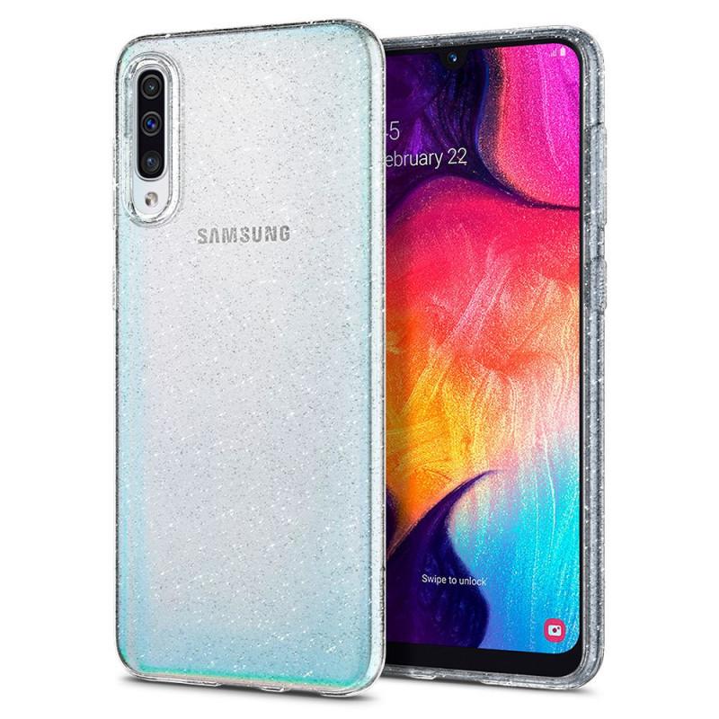 ETUI SPIGEN Liquid Crystal Glitter do Galaxy A50