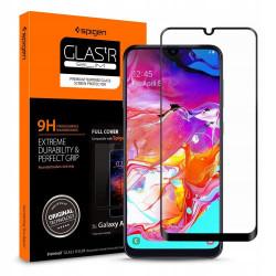 SZKŁO 9H SPIGEN FULL COVER Samsung Galaxy A70