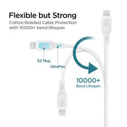 KABEL SPIGEN C10CL MFI USB-C Lightning PD 1M