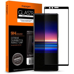 SZKŁO SPIGEN GLAS.TR FULL COVER do Xperia 1