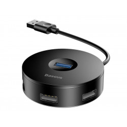 HUB BASEUS ADAPTER ROUND BOX DO 4x USB 3.0 2.0