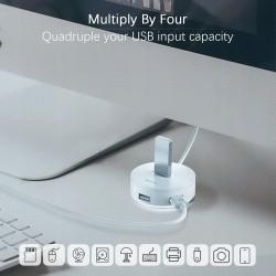HUB BASEUS ADAPTER ROUND BOX DO 4x USB 3.0 2.0