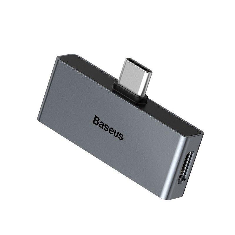 ADAPTER BASEUS AUDIO USB-C na USB-C minijack 3,5mm