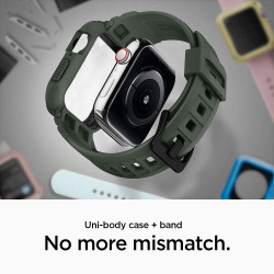 ETUI SPIGEN Rugged Armor Pro Apple Watch 4 (44mm)